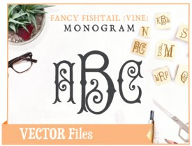 fancyfishtail-vine-vector